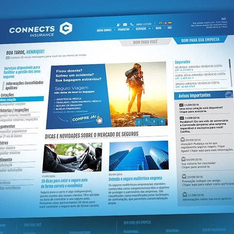 Presença Online  Site e Peças de Comunicação