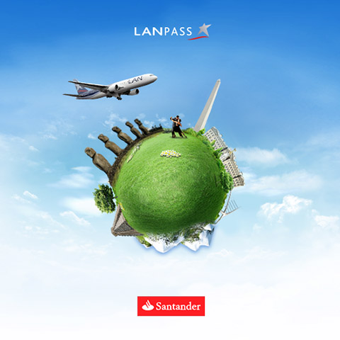 Landing page promocional