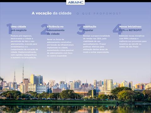 ABRAINC para o desenvolvimento de São Paulo