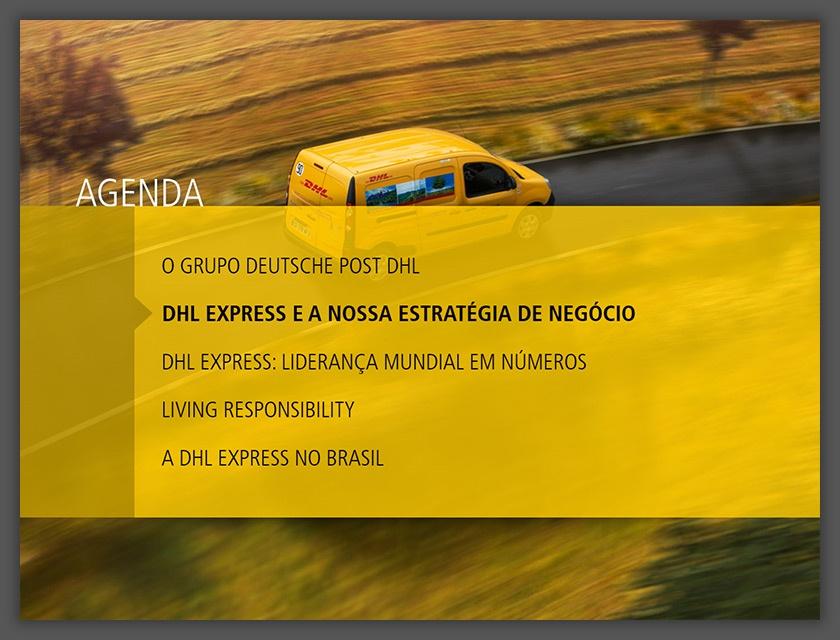 Apresentação de Vendas DHL Express